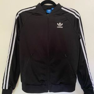 Unisex adidas zipper jacket
